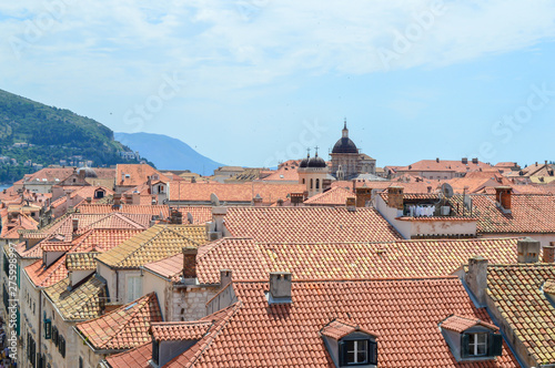 Ancient town Dubrovnik on June 18, 2019 Tablou Canvas
