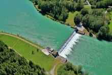 Lech Wasserkraftwerk