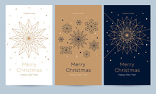 A Set Of Greeting Card With Sn...