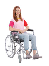 Beautiful Woman In Wheelchair ...