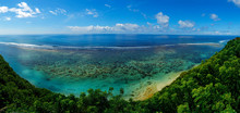 View Of The Coast With Beach And Coral At Bukit In Bali -indonesia