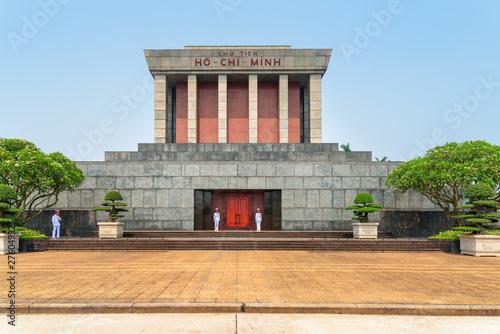 The Chairman Ho Chi Minh Mausoleum, Hanoi, Vietnam