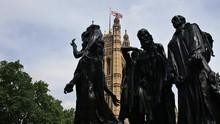 Burghers Of Calais,  Victoria Tower Gardens, London, England, United Kingdom.