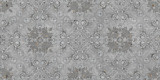 cement damask design seamless background - 276072566