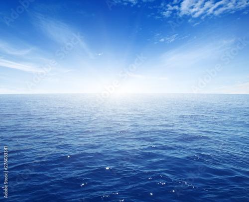 Foto op Plexiglas Zee / Oceaan Seascape and blue sky