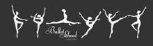 Ballerina Silhouettes Set. Dan...