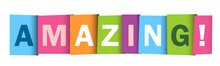 AMAZING! Colorful Vector Typog...