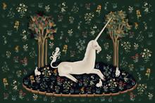 Unicorn Rest Illustration, Pos...