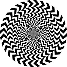 Geometric Optical Illusion. Wh...