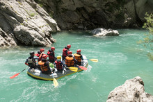 Rafting On The Verdon