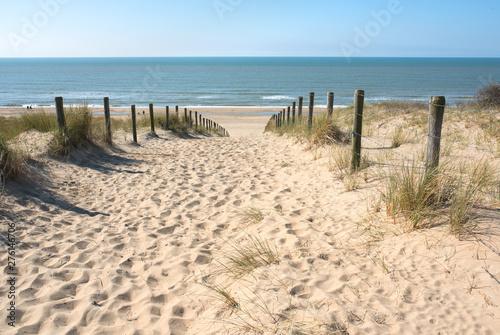 Fototapeta Piasek  sand-dune-to-the-beach