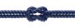 Knoten im Seil als Verbindung Konzept