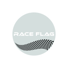 Modern Race Flag Additional Ci...