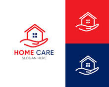 House Care Logo Template, Medi...