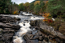 The Falls Of Dochart, Killin, Scottish Highlands