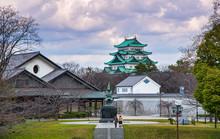 Statue Of Kiyomasa Kato At Nag...