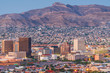canvas print picture - El Paso, Texas, USA Downtown Skyline