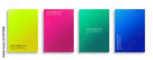 Fototapety, obrazy: background modern template design for web. Cool gradients.