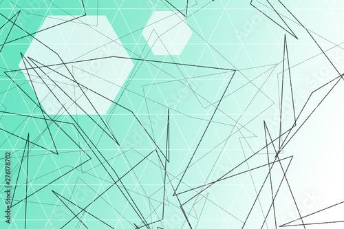 Tuinposter Decoratief nervenblad abstract, blue, wave, design, wallpaper, line, waves, light, lines, illustration, pattern, texture, water, digital, art, curve, color, graphic, artistic, white, motion, gradient, backdrop, shape