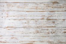 White Wooden Floorboards. Dist...