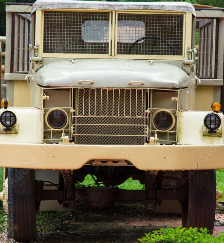 Photo Close up de caminhão velho