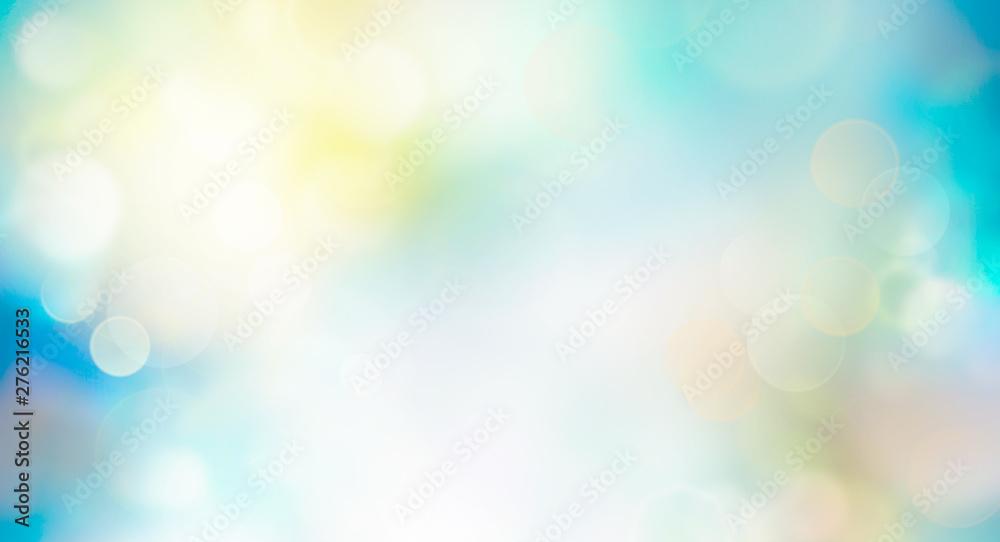 Fototapety, obrazy: Spring or summer background blur.