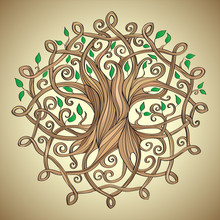 Vector Illustration Of Celtic ...