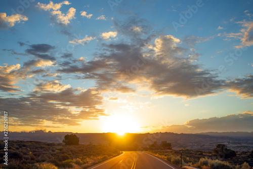 Canvas Prints Sunset Sunrise in Utah