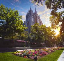 Mormon Temple In Utah