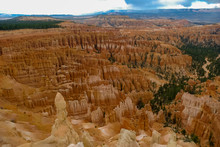 Overhead View Of Bryce Canyon ...