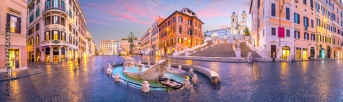 Photo Piazza de spagna(Spanish Steps) in rome, italy