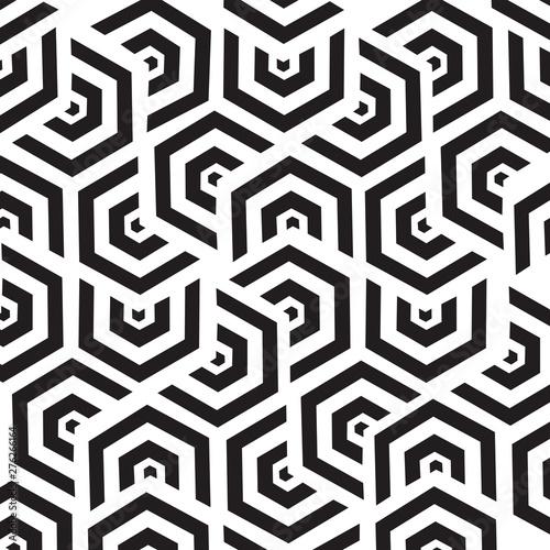 Spoed Fotobehang Geometrisch seamless pattern