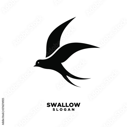 swallow logo isolated swallow on white background vector illustration buy this stock vector and explore similar vectors at adobe stock adobe stock background vector illustration