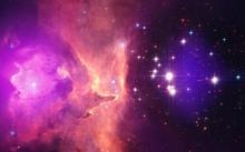 Space Nebula. Cosmic Cluster O...