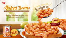 Baked Beans On Toast Ads