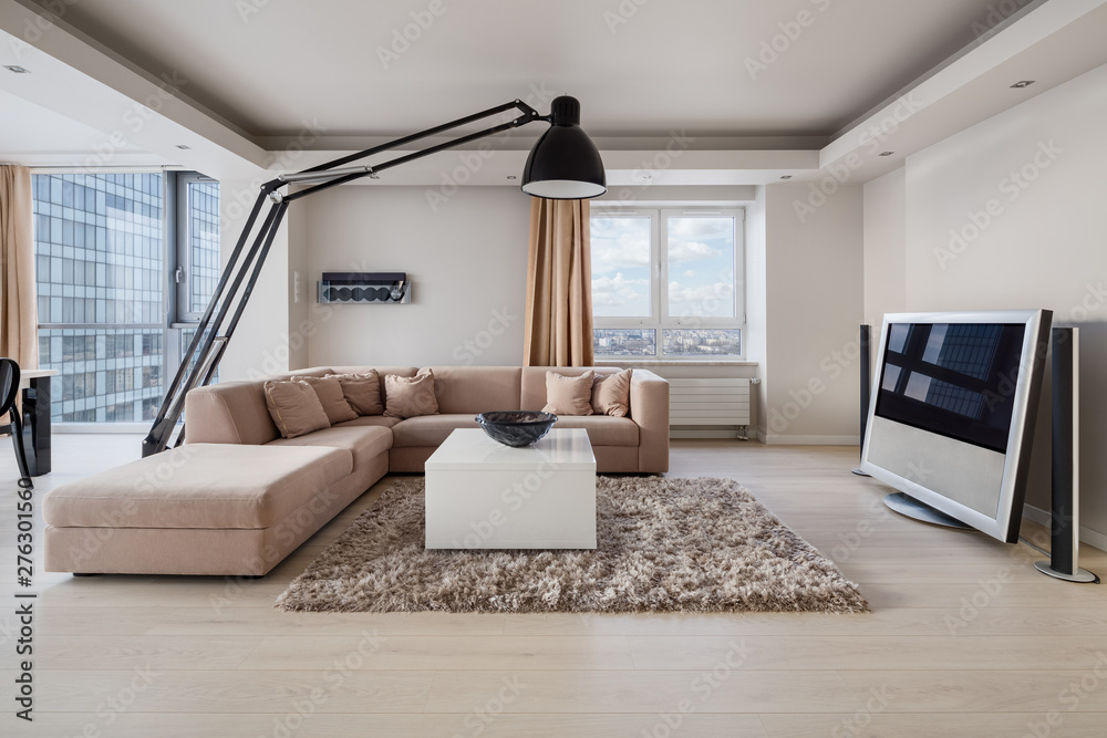 Fototapety, obrazy: Luxury living room interior
