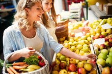 Young Woman Shopping Healthy F...