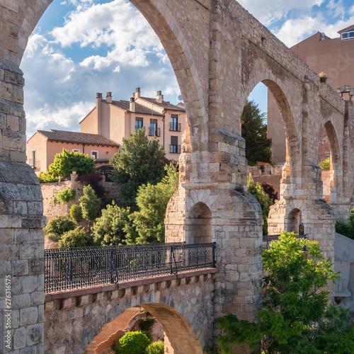 Historical Aqueduct of Teruel, Aragon, Spain
