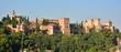 Vista de la Alhambra desde el barrio del Sacromonte de Granada