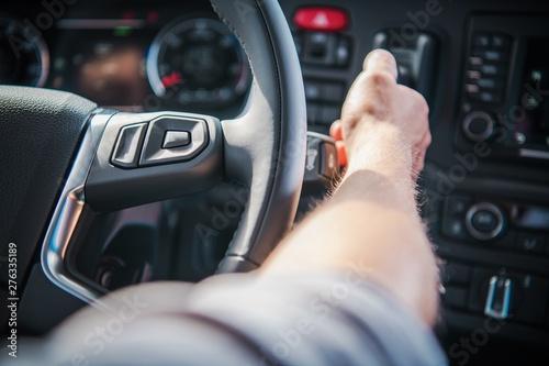 Staande foto Eigen foto Semi Truck Air Brake