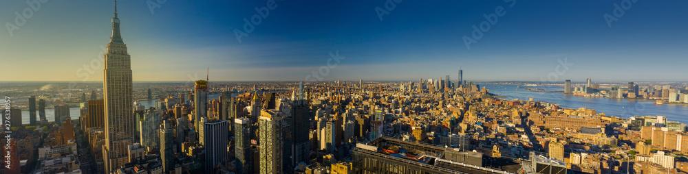 Fototapety, obrazy: Aerial panorama New York City