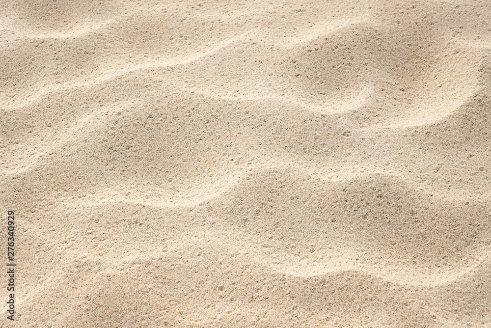 Fototapety, obrazy: Background for design on the theme of the sea resort. Abstract natural pattern. Sand texture on the beach