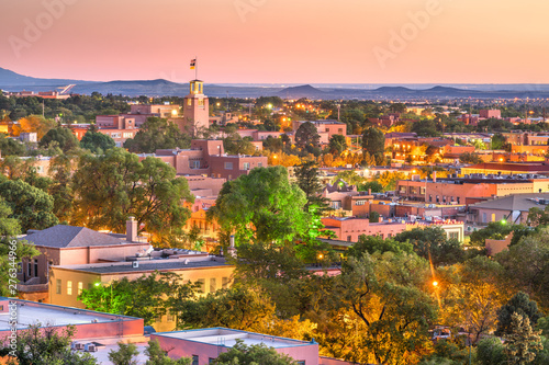 Santa Fe, New Mexico, USA Canvas Print