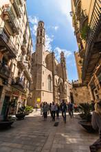 Barcelona, Spain - April, 2019...