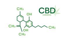 CBD Molecular Formula. Cannabi...