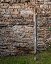 Signpost To Gunnerside