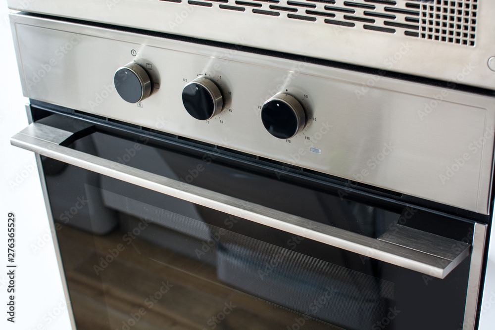 Fototapety, obrazy: New electric oven in kitchen