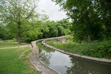 Espada Aqueduct Or Piedras Creek Aqueduct In San Antonio San Antonio Missions National Historical Park, Texas
