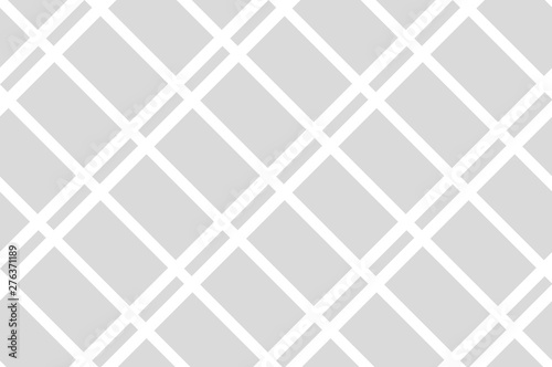 Fotografia  Seamless pattern. Grey Stripes on white background.