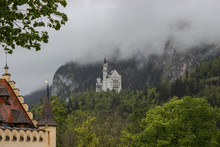 View Of Neuschwanstein Castle ...